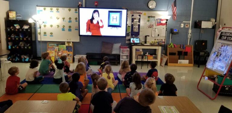 TV Teacher used in Tritt Elementary kindergarten class